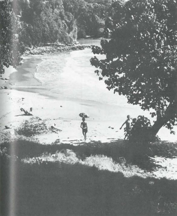 A hideaway beach on Jamaica's east coast