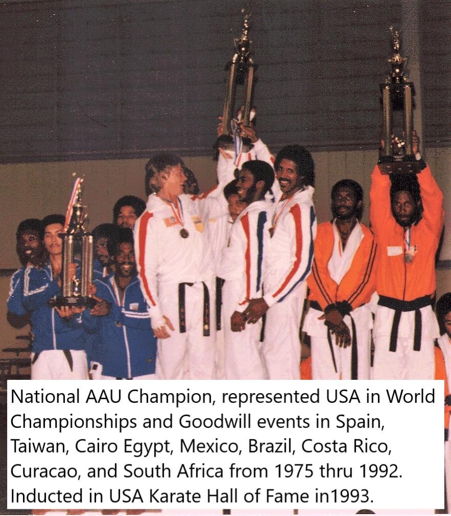 Ken Ferguson National AAU Champion
