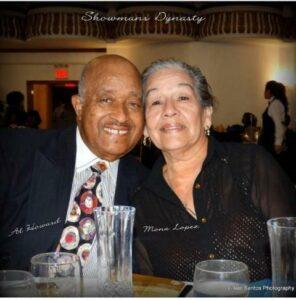 Showman's Jazz Club Proprietor Al Howard and Mona Lopez