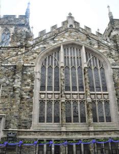 Abyssian Church Sidewalk Entrance Fence