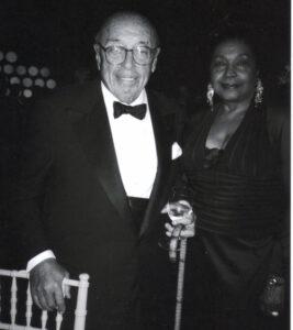 Ahmet Ertegun and Barbara Harris
