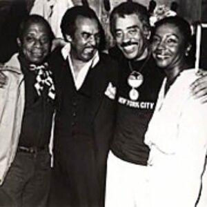 James Baldwin, Mike Mikell, Oscar Brown, Jr. & Barbara