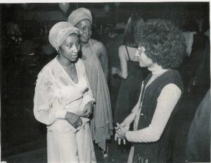 Aretha Franklin, Barbara Harris, David Nathan 1976
