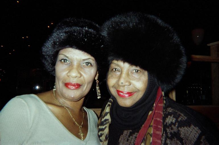 Margie Joseph and Barbara Harris