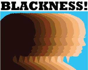 """6"""" x 4"""" Blackness Postcard"""
