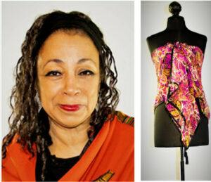 Audrey's portrait and design, photographer, Cassandra Bromfield)